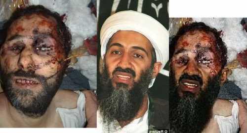 Osama death bin laden pics released