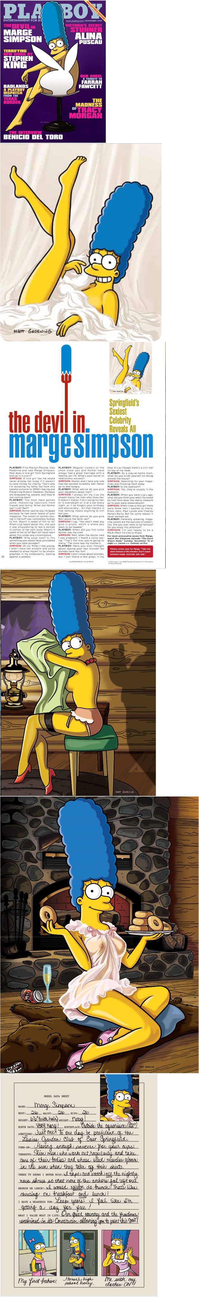 Marge Simpson Love Is Blindness